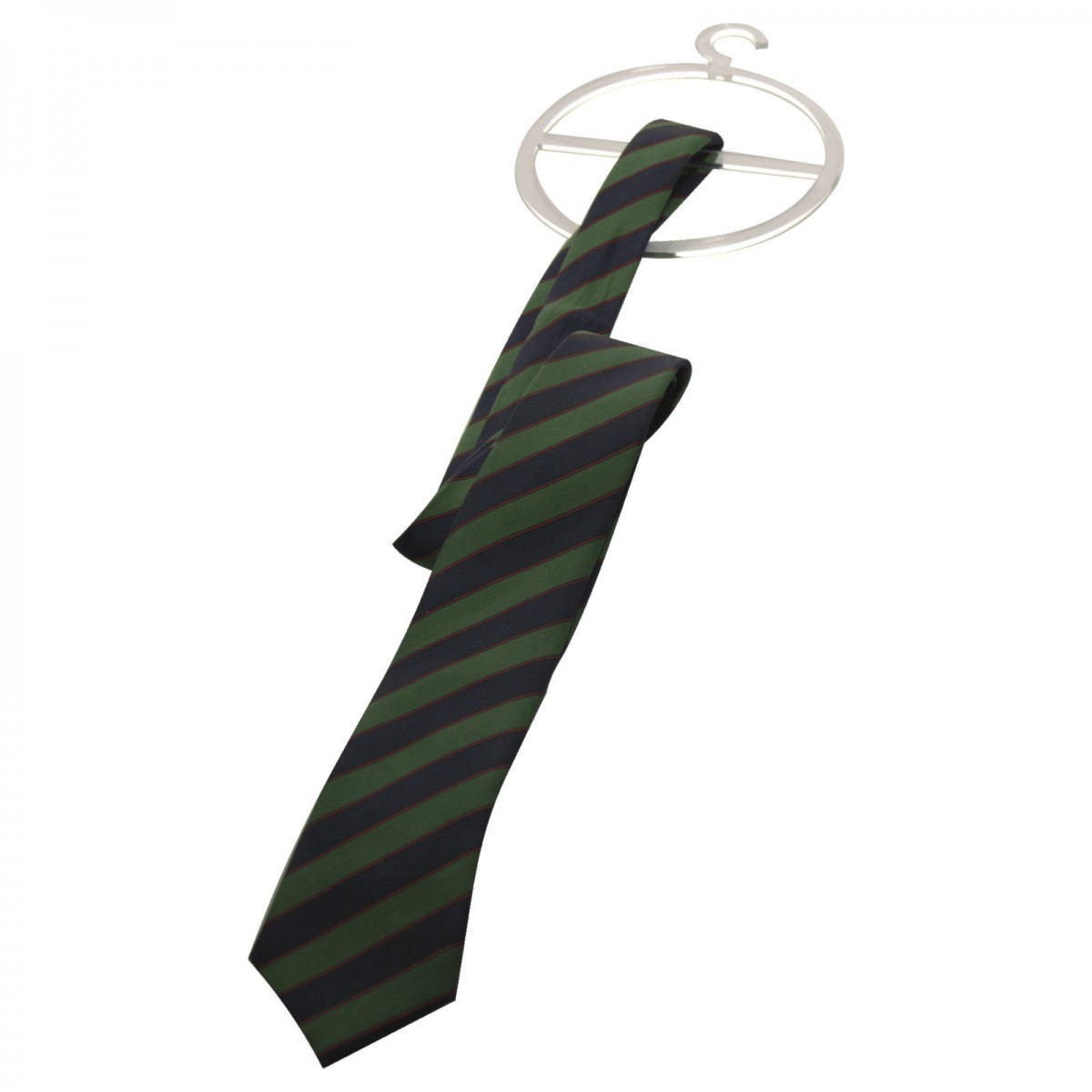 E-303 EPC-C - Porta cravatte e foulard in plexiglass trasparente - Misure 13.5 x H17 cm