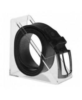 E-306 EPC - Porta cintura in plexiglass trasparente a 1 postazione