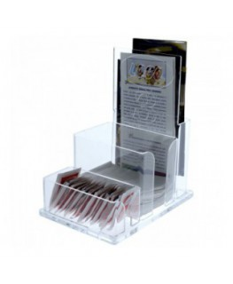 Acryilic multipurpose display – 3 Compartments...