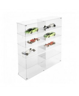 Clear acrylic notice board/display case - Scale of 1:18 –...