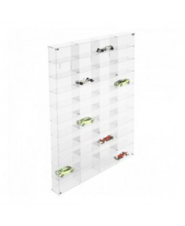 Clear acrylic notice board/display case - Scale of 1:43 –...