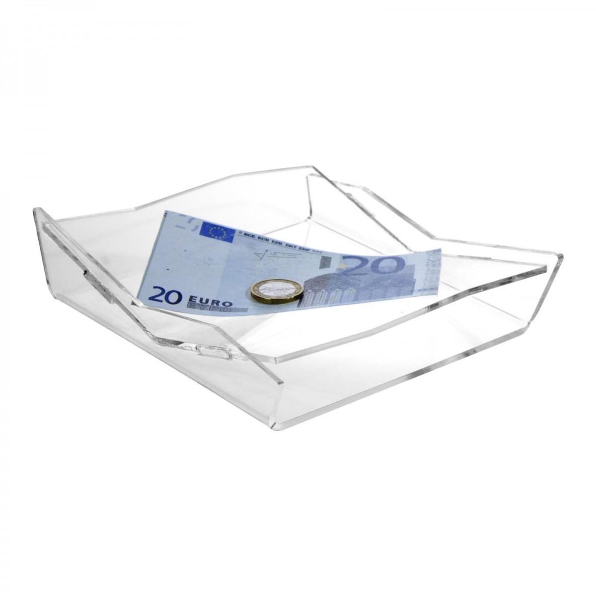 E-418 RR - Rendi resto in plexiglass trasparente