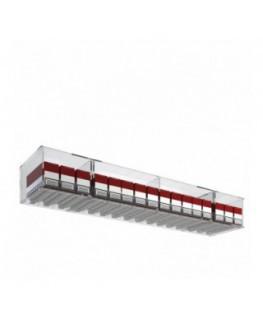 E-535 ESS-A - Espositore porta sigarette da banco o da soffitto in plexiglass trasparente per pacchetti da 20 a 16 postazioni...