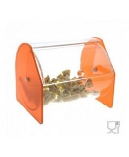 Circular Acrylic candy bin