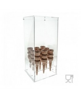 Clear Acrylic ice-cream...