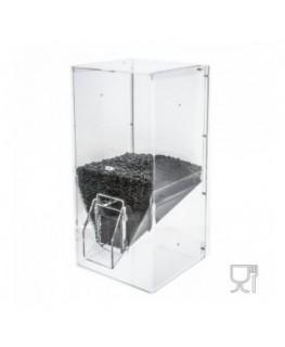 E-087 SC - Dispenser caffè da 3.0 kg in plexiglass trasparente
