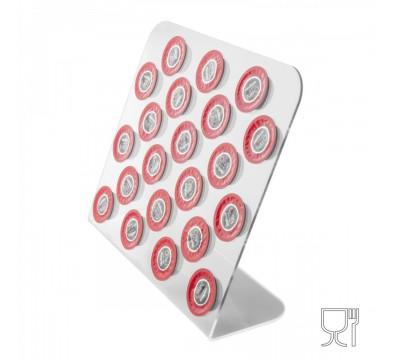 Clear Acrylic countertop coffee capsule box holder
