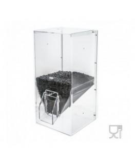 E-101 SC - Dispenser caffè da 6.0 kg in plexiglass trasparente