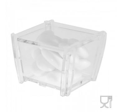 Konfektschachteln aus Plexiglass