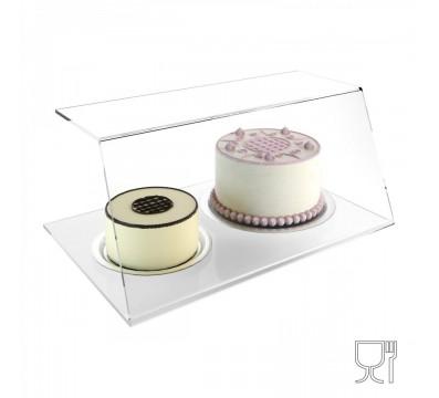Spuckschutz aus Plexiglass, transparent, für Lebensmittel