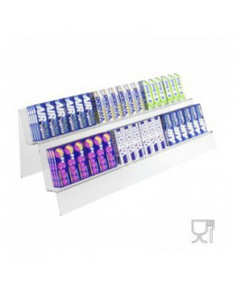 Clear Acrylic candy display – 2 shelves
