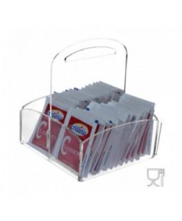 E-033 PB - Porta bustine in Plexiglass trasparente
