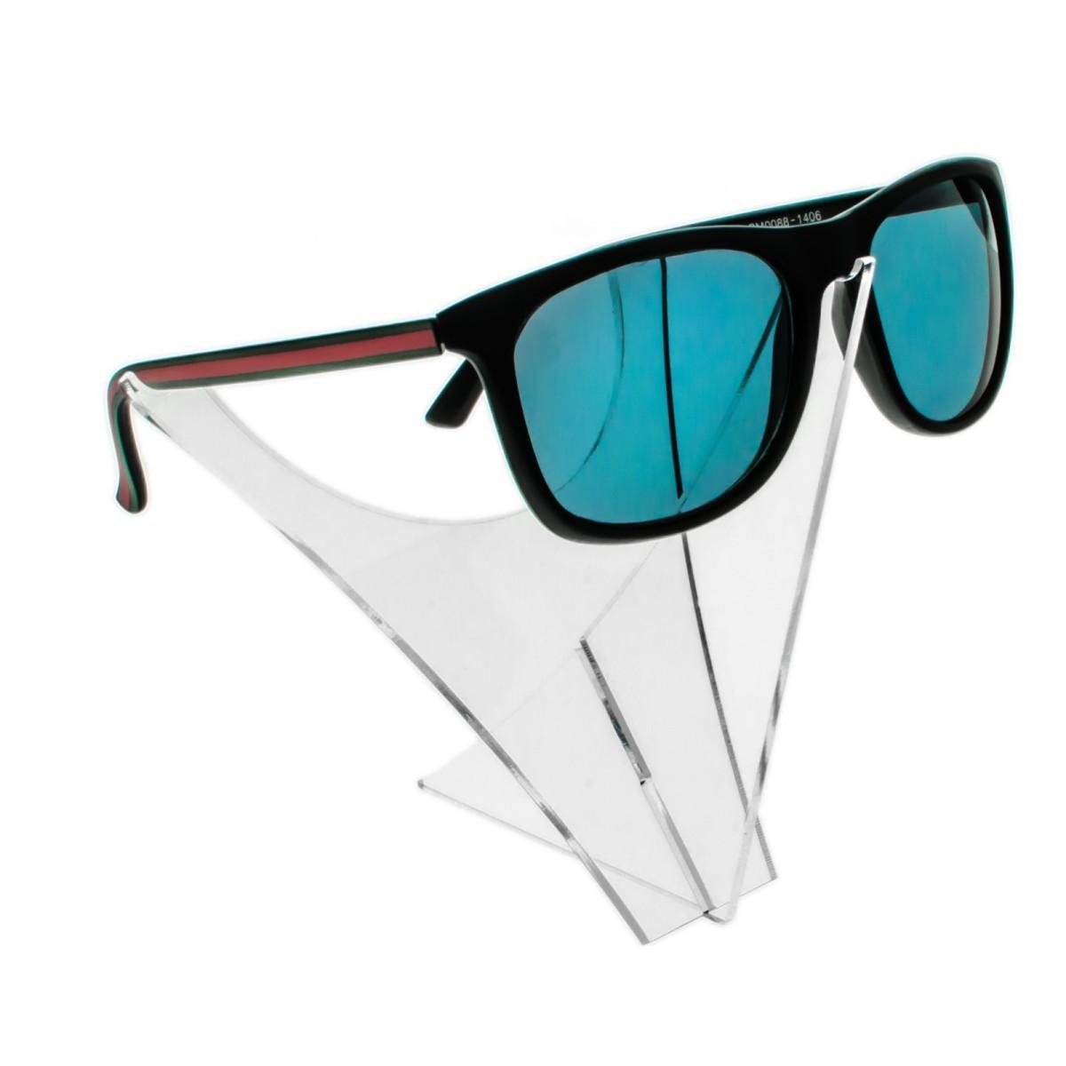 E-201 - Portaocchiali in plexiglass trasparente