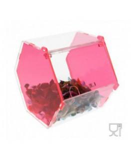 Hexagonal Acrylic candy bin