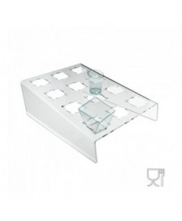 Clear Acrylic frozen dessert display case