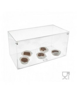 Clear Acrylic countertop display case