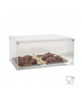 Acrylic countertop display case – Double-sided