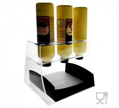 E-309 - Espositore porta topping in plexiglass trasparente