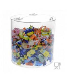 Espositore multiuso in plexiglass trasparente con...