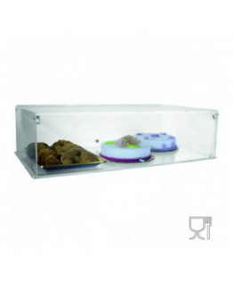 Countertop display case with door – Bifacial
