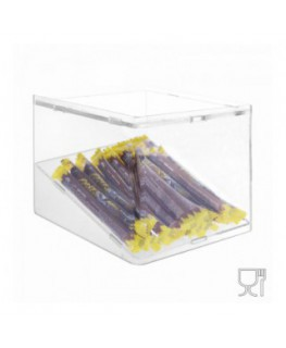 Clear acrylic candy bin