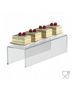 Alzate/Tavolino multiuso in plexiglass trasparente -...