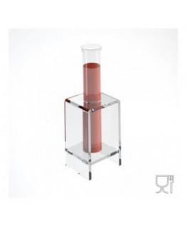 E-610 - Alzate multiuso in plexiglass trasparente per finger food - Spessore 5 mm