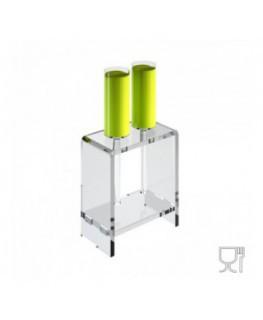 E-614 - Alzate multiuso in plexiglass trasparente per finger food - Spessore 5 mm