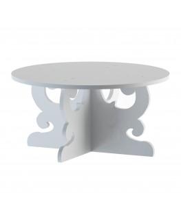 E-588 - Alzate multiuso in plexiglass bianco - Spessore 5 mm