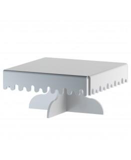 E-595 - Alzate multiuso in plexiglass bianco - Spessore 5 mm