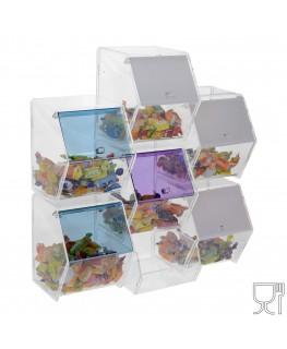 E-314 - Porta caramelle in plexiglass trasparente