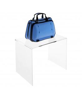 - Tavolino - Alzatina Plexiglass Trasparente - Dimensioni massime 40x30x35 cm. - Spessore 5 mm
