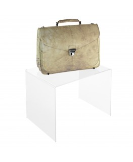 - Tavolino - Alzatina Plexiglass Trasparente - Dimensioni massime 70x70x50 cm. - Spessore 10 mm