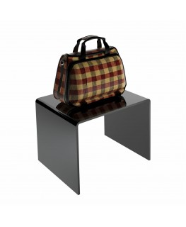 - Tavolino - Alzatina Plexiglass Nero - Dimensioni massime 40x30x35 cm. - Spessore 5 mm