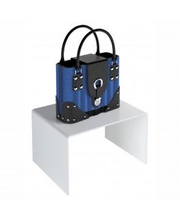 - Tavolino - Alzatina Plexiglass Bianco - Dimensioni massime 70x70x50 cm. - Spessore 10 mm