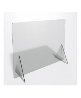 E-694 PAR - Parafiato o pannello separatore in plexiglass trasparente - 90xh70 cm