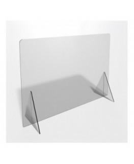 E-695 PAR - Parafiato o pannello separatore in plexiglass trasparente - 100xh70 cm