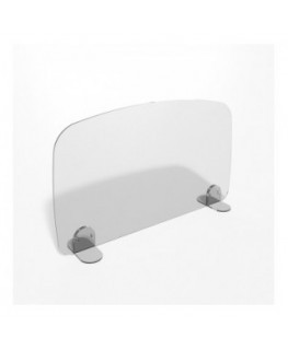 E-696 PAR - Parafiato o pannello separatore in plexiglass trasparente - 80xh60 cm
