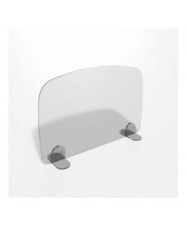 E-698 PAR - Parafiato o pannello separatore in plexiglass trasparente - 70xh60 cm