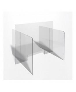 E-700 PAR - Parafiato o pannello separatore in plexiglass trasparente - 90xh70 cm