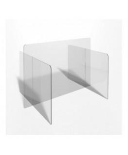 E-701 PAR - Parafiato o pannello separatore in plexiglass trasparente - 100xh70 cm