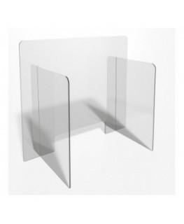 E-702 PAR - Parafiato o pannello separatore in plexiglass trasparente - 80xh70 cm