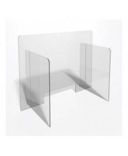 E-703 PAR - Parafiato o pannello separatore in plexiglass trasparente - 90xh70 cm