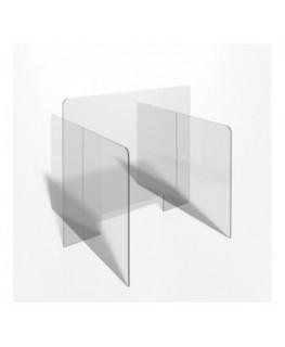 E-705 PAR - Parafiato o pannello separatore in plexiglass trasparente - 90xh70 cm