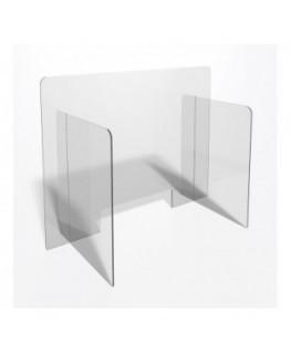 E-708 PAR - Parafiato o pannello separatore in plexiglass trasparente - 90xh70 cm