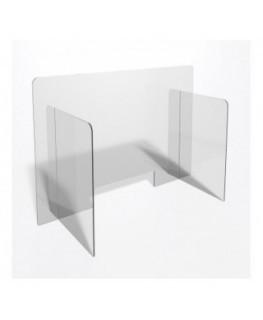 E-709 PAR - Parafiato o pannello separatore in plexiglass trasparente - 100xh70 cm