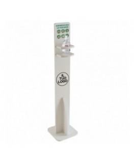 E-711 PSD - Dispenser / Distributore / Colonnina per igienizzante/gel disinfettante da terra