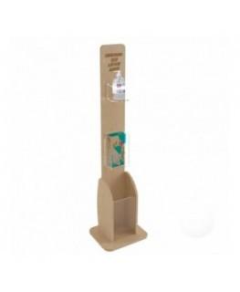 E-713 PSD - Dispenser / Distributore / Colonnina per igienizzante/gel disinfettante da terra 3 in 1