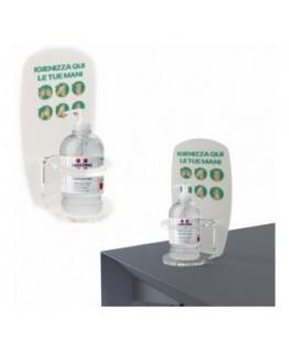 E-714 PSD - Dispenser / Distributore / Colonnina per igienizzante/gel disinfettante da banco o da parete