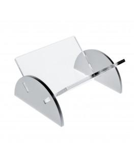 E-032 PB - Porta bustine zucchero da banco in Plexiglass trasparente e colorato